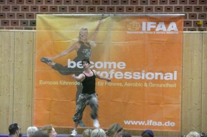 IFAA internationaler Fitness und Aerobic Kongress