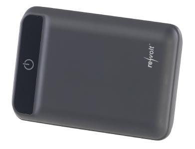 ZX 2819 2 revolt Powerbank im Kreditkartenformat 10.000 mAh 2 USB Ports 2.4 A 12 W
