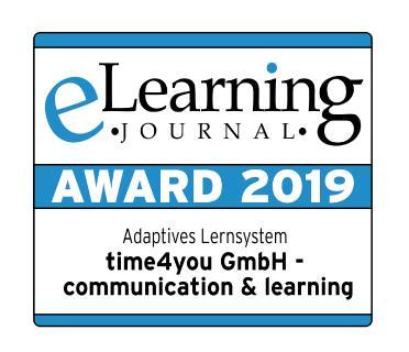 Auszeichnung Kategorie Adaptives Lernsystem (Foto: time4you)