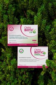 Fotocredits: ©Institut AllergoSan; OMNi-BiOTiC® STRESS Release, das Probiotikum des Jahres 2021 in den USA, ist in Deutschland unter dem Namen OMNi-BiOTiC® SR-9 bekannt.