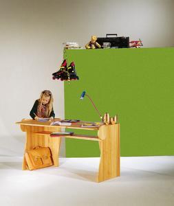 WDL Triline als Schreibtisch