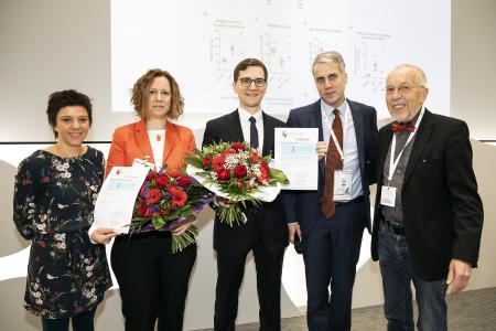 vlnr.: Anne-Christin Kopp, Dr. Astrid Weiß, Moritz C. Neubauer, Dr. Hans Klose, Hans-Dieter Kulla