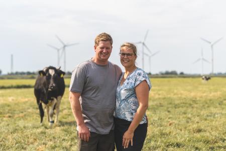 Landwirt Tierwohl-Milch