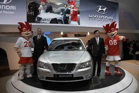 Hyundai auf dem Genfer Automobilsalon 2008 (Foto: Outstanding Solutions)