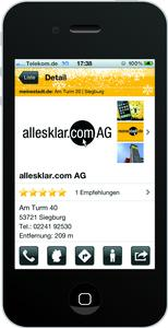 App von meinestadt.de für iPhone und Android jetzt mit Bewertungsfunktion