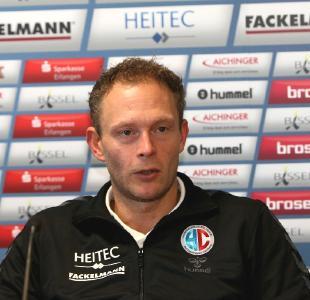 Göppingen nicht unterschätzen, so HC-Coach Tobias Wannenmacher (HJKrieg, hl-studios, Erlangen)