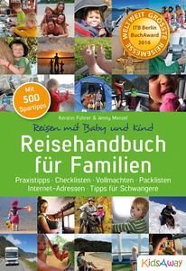 Reisehandbuch für Familien erhält ITB BuchAward