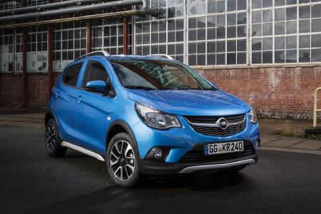 Little rocker: The new Opel KARL ROCKS combines the practicality of a small car with the cool look of an SUV