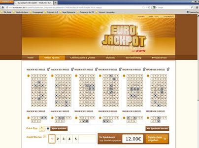 Neue Spielmöglichkeit unter eurojackpot.de zum 22 Mio. Euro Jackpot