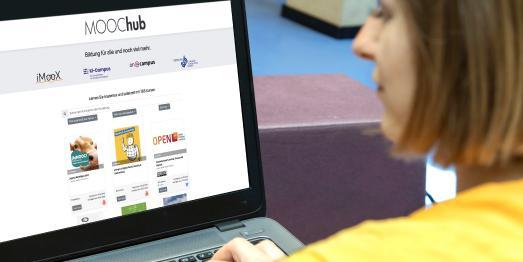 Bildung für alle – Screen MOOChub, Foto: Lunghammer, TU Graz