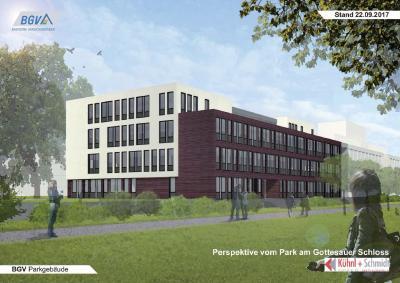 Visualisierung BGV-Parkgebäude