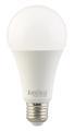 Luminea Home Control  WLAN-LED-Lampe LAV-170.rgbw, für Amazon Alexa und Google Assistant, E27, RGBW, 15 Watt