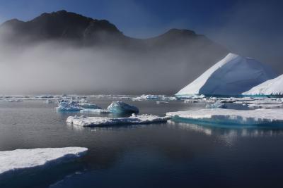 Eisberge in Ostgrönland