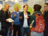 Beratung mit Begeisterung Koos ten Kate (2.v.l.) und Katrin Beersen (3.v.l.). Foto: Stadt Bad Harzburg