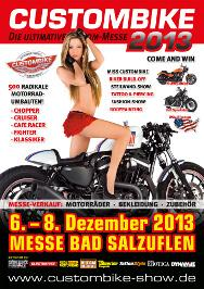 CUSTOMBIKE-SHOW 2013 - Die weltweit größte Custombike-Messe