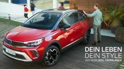 Opel Crossland ist der Star in neuer internationaler TV-Kampagne
