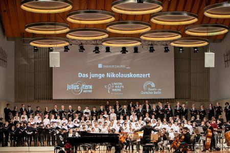 Nikolauskonzert zugunsten der Unionhilfswerk-Förderstiftung ©Melanie Buehnemann