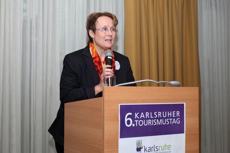 6. Karlsruher Tourismustag Bürgermeisterin Luczak Schwarz