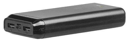 revolt USB-Powerbank PB-220 mit 20.000 mAh, 2 USB-Ports, 2,4 A, 12 Watt