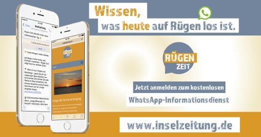 RügenZeit WhatsApp-Newsletter