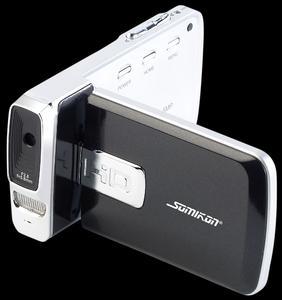 "Somikon Superflacher Full-HD-Camcorder DV-950.Slim, 2,7"" Touchscreen"