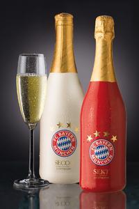 Die Sektkellerei J. Oppmann, Würzburg bringt FC Bayern Sekt und FC Bayern Secco auf den Markt