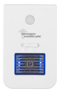 newgen medicals 2in1-Ionisator-Luftreiniger & Nachtlicht LR-20, Fernbedienung, Timer, 20 m²