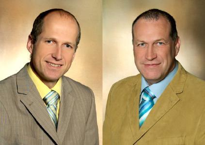 Prof. Dr. med. Stefan Corvin und Dr. med. Hauke Hammerl