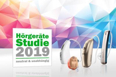 Moderne Hörgeräte können bei den bundesweit 300 teilnehmenden Hörakustikern im Rahmen der Studie bewertet werden. © meinhoergeraet.de