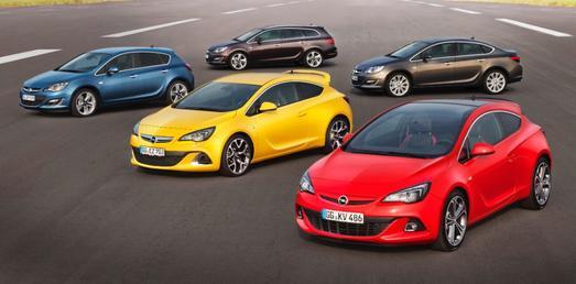 Opel präsentiert die neue Astra-Familie auf dem Moskauer Internationalen Automobilsalon (MIAS). Der erfolgreiche Kompakt-Bestseller ist jetzt noch sportlicher und vielfältiger