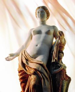 Bemalte Venusstatuette