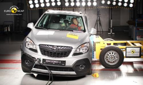 Der Opel Mokka SUV erhält von der unabhängigen Verbraucherorganisation Euro NCAP (European New Car Assessment Program) die Maximalwertung von fünf Sternen. Der Mokka erzielte in allen fünf Kategorien des Euro NCAP-Tests eindrucksvolle Ergebnisse