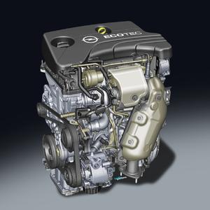 Ergebnis aufwendiger Entwicklungsarbeit: Der neue 1.0 ECOTEC Direct Injection Turbo von Opel ist nicht nur laufruhiger als andere Dreizylinder, er ist auch leiser als viele Vierzylinder-Motoren © GM Company