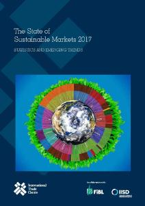 """Cover of the new report """"State of Sustainable Markets: Statistics and Emerging Trends – 2017"""""""