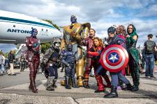 Cosplay-Wochenende statt Science Fiction Treffen im Technik Museum Speyer