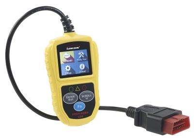 Lescars Universelles OBD2-Diagnosegerät, 5,1-cm-Farb-Display, bis zu 300 Codes
