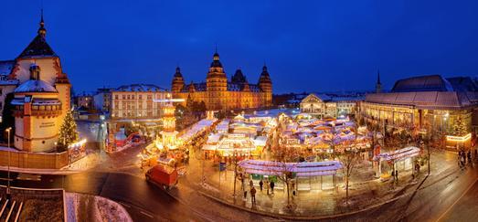 Weihnachtsmarkt in Aschaffenburg / ©Kongress- und Touristikbetriebe der Stadt Aschaffenburg