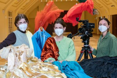 Musikalische Komödie (Oper Leipzig) Kicks Off an Art-Film Project With the HFF Munich