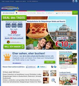 DEAL des TAGES - ab-in-den-urlaub.de erweitert seine Angebotspalette mit neuer Website