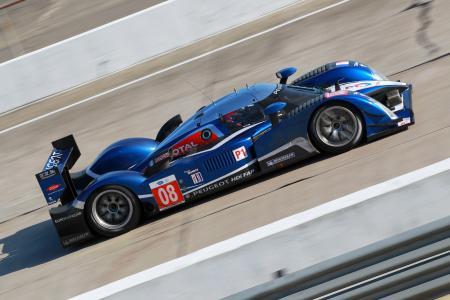 Der PEUGEOT 908 startete im Jahr 2011 beim 24-Stunden-Rennen von Le Mans.