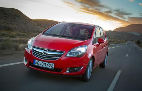 Junger Meister: Der neue Opel Meriva feierte im Januar seine Weltpremiere auf dem Brüsseler Autosalon © GM Company