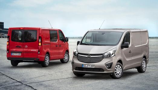 Der Opel Vivaro: Mit 50.000 produzierten Einheiten pro Jahr der Bestseller unter den leichten Nutzfahrzeugen von Opel