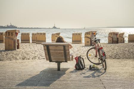 Kleine Auszeit auf dem Rad - im Urlaub im Ostseebad Eckernförde