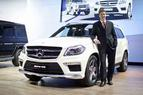 Weltpremiere des GL 63 AMG auf dem Moscow International Automobile Salon