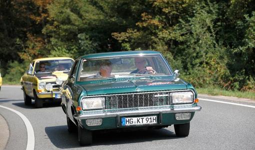 Oldtimer fürs Auge: Liebhaber automobiler Schätze kommen am 10. September im Opel Test Center auch dank der Alt-Opel-Interessengemeinschaft auf ihre Kosten