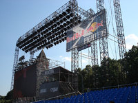 Stageco Business Partners bei Red Bull X-Fighters in Moskau aktiv