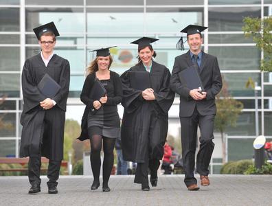 Fernstudierende am RheinAhrCampus der Hochschule Koblenz. Foto:RheinAhrCampus