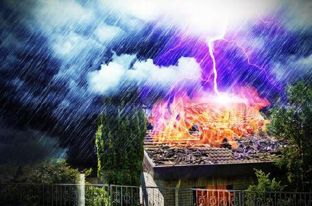 Stürme, Starkregen, Hagel und Überschwemmungen - ist mein Haus fit für den Klimawandel?