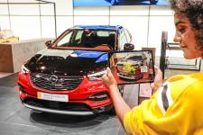 Augmented Reality at the IAA: X-Ray Vision at Opel World Premieres