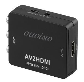 auvisio HDMI-Adapter für Spielkonsole, Cinch-HDMI-Stecker / Bild: PEARL. GmbH / www.pearl.de